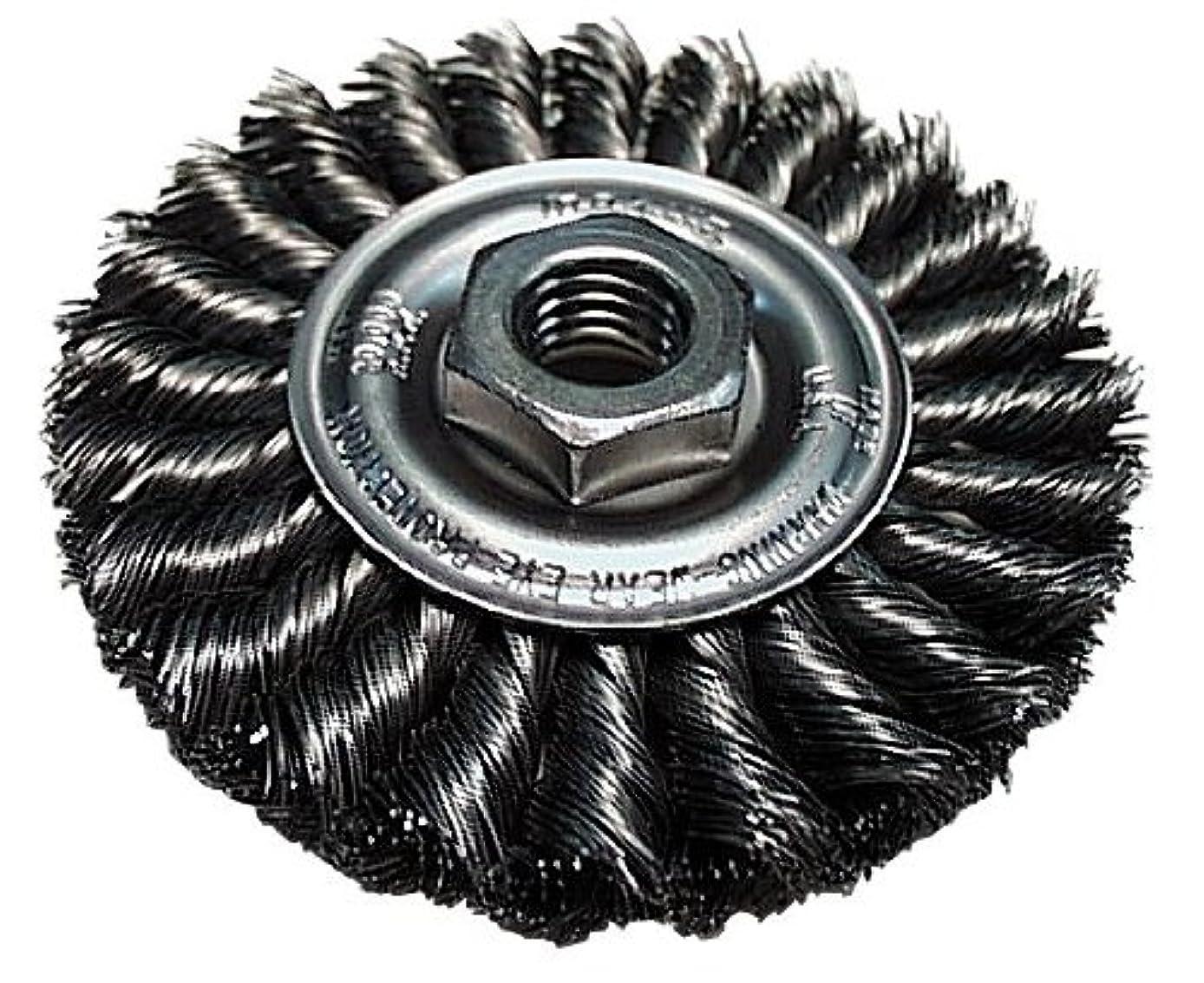 Makita 743212-A 4-Inch Standard Twist Wire Wheel