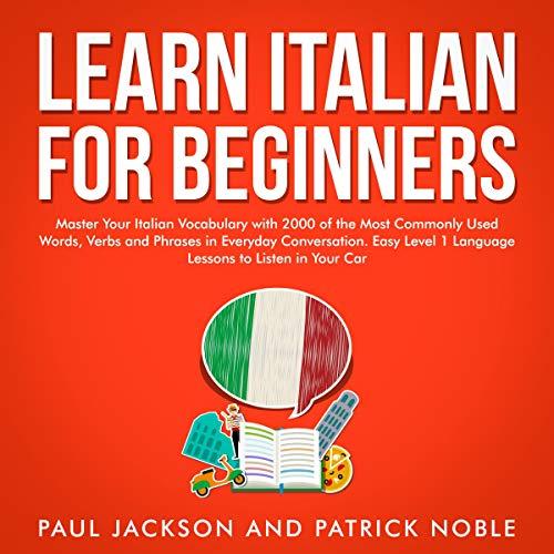 Learn Italian for Beginners Titelbild