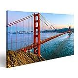 bilderfelix® Bild auf Leinwand Golden Gate Bridge, San