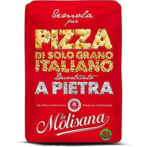 La Molisana, Semola di Grano Duro per Pizza, SOLO Grano Italiano - 1kg