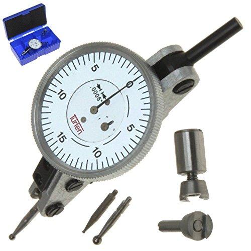 Türlen Horizontal Dial Test Indicator Graduation 0.0005' Range 0.060' 1.5' Head