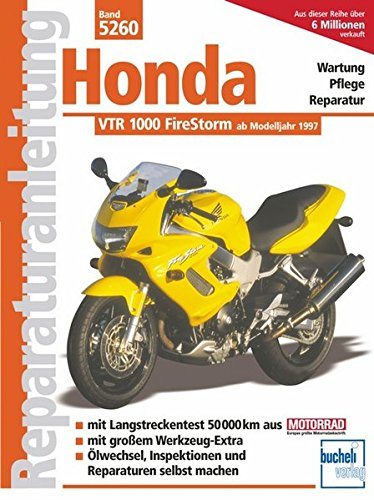Honda VTR 1000 FireStorm (Reparaturanleitungen)