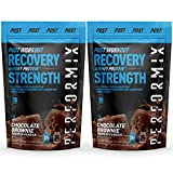 Performix ioWHEY Protein Powder - 2 Pack - 36 Servings - 100% Whey Isolate Protein for Quick Absorption and Post Workout - 22g Protein, Low Carb and No Sugar - Chocolate Brownie