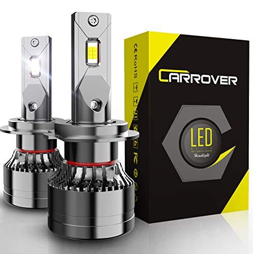H7 LED 18000LM Lampadine per Fari Auto, 55W/Lampadina, 12V, 6000K