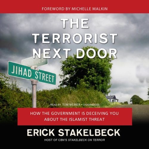 The Terrorist Next Door audiobook cover art