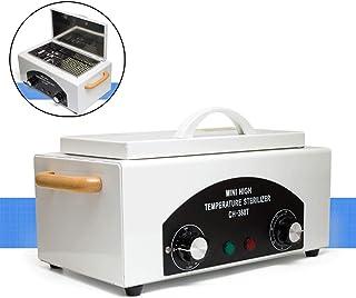High Temperature UV Sterilizer Box, Nail Art Salon Portable Sterilizing Tool Manicure Nail Tool Dry Heat Sterilizer