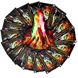 FANEO Multicolor Flame Powder Flame Dyeing Outdoor Bonfire Party Supplies Magic Kits & Accessories
