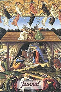 Journal: Blank Lined Paper Notebook Botticelli The Mystical Nativity