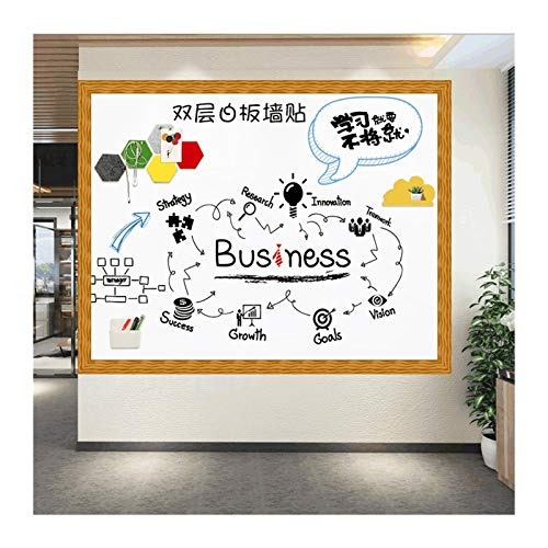 Pegatinas de Pared de Graffiti magnética de Doble Capa Pegatinas de Pared Pueden ser un Tablero de Dibujo Colgante magnético para la reunión de la Oficina (Color : Style B 60cmx90cm)