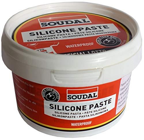 Soudal Silicone Paste Grasa, Rojo, Talla Única