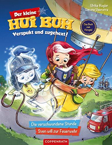 Der kleine Hui Buh - Verspukt und zugehext (Bd. 1): Die verschwundene Stunde / Sven will zur Feuerwehr