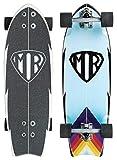 Quiksilver - Mr Retro Skateboard Cruiser Blue
