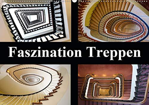 Faszination Treppen (Wandkalender 2021 DIN A2 quer)