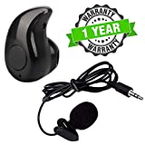 Raptas Noise Cancellation Voice Recording Lavalier Microphone with Mini Clip & Invisible Wireless