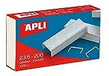 Apli Kids 13470 Pack De 1000 Grapas, 23/6 - 200
