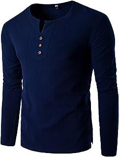 SANFASHION Hoodie Hooded Plain Full Zip Thru Jacket Pullover Jumper Sweatshirt Men's Light Drew Peak Pullover EU Hoodie Me...