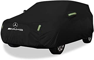 GCM Mercedes GLE 43 4MATIC AMG Jacket Sunscreen Rainproof Insulation Dustproof Non-Flammable Cloth Four Seasons Universal Jackets Protective Clothing (Color : Oxford Cloth Single Layer)