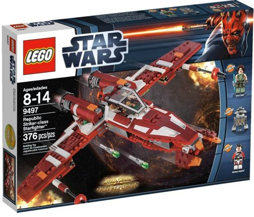 Lego 9497 - Star Wars: Republic Striker - Class Starfighter