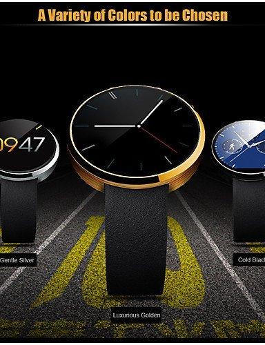 DM360portátiles reloj inteligente, llamadas manos libres/control de los medios de comunicación/mensaje de control/Control de la cámara para Android & iOS