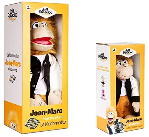 By Jeff Panacloc - Marionnette Jean-Marc & Mini Peluche vocale - Offre Duo