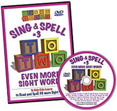 Sing & Spell the Sight Words - Volume 3 DVD