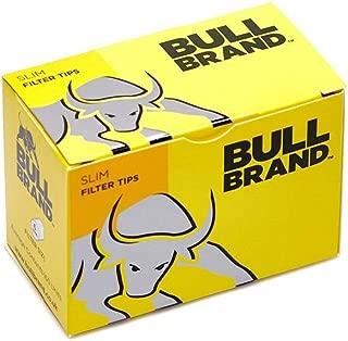 Bull brand slim filter tips 10 boxes(165 filter per box)