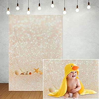 Amazon - 70% Off on  Gold Spots Shinning Sparkle (No Glitter) Photography Backdrop, Gold Abstract Bokeh Photo Background