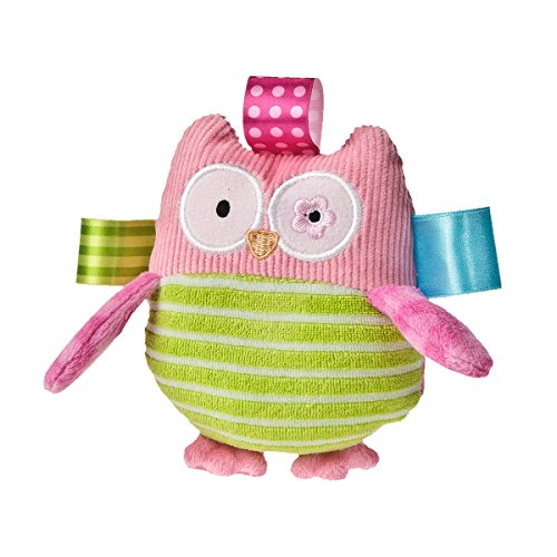 Best Price Taggies Oodles Owl Plush Rattle
