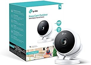 Kasa Smart (KC200) Outdoor Camera by TP-Link, 1080p HD Smart Home Security Camera with Night Vision, Built-in Siren, 2-Way Audio, Motion Detection, Works with Alexa & Google Home