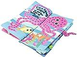 Livre en Tissu pour Bébé Jouets Educatifs avec des Animaux Queues pour Enfants plus de 3 Mois (Sea World)