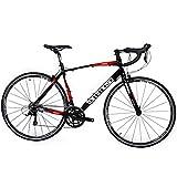 Tommaso Tiempo Lightweight Aluminum Road Bike - Italian Heritage and Craftsmenship, Upgraded Shimano Gears - S