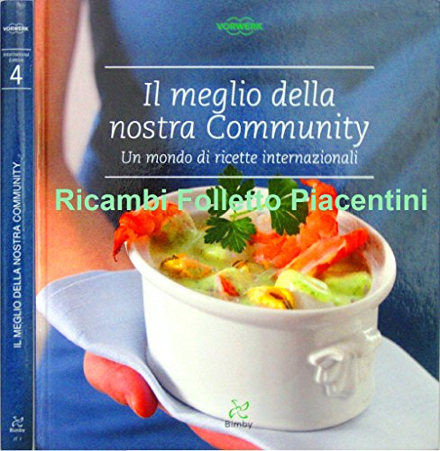 Vorwerk Contempora Ricettario Bimby: Im Meglio Della Nostra Community TM31 ORIGINALE