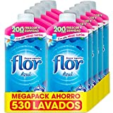 Flor - Suavizante para la ropa concentrado, aroma azul - Pac