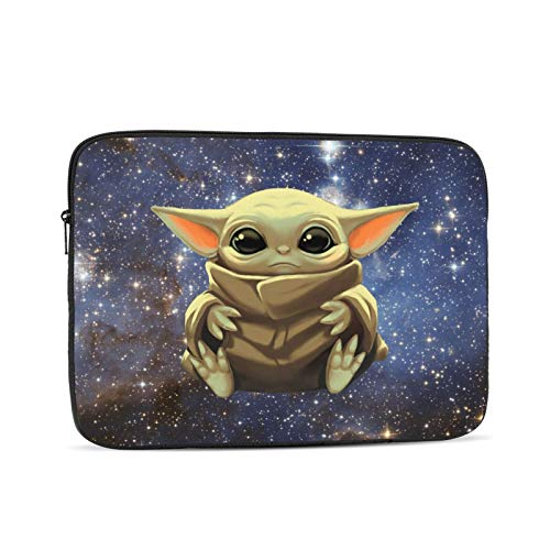Baby Yoda Multi-Size Laptop Case Bag Protective Sleeve for 10-Inch to 17-Inch