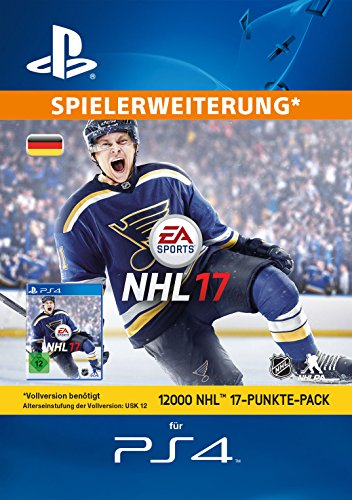 12000 NHL 17 Punkte-Pack [PS4 PSN Code - deutsches Konto]