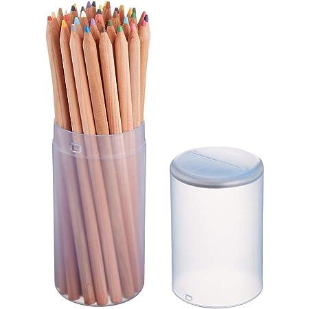 ナカバヤシ 色鉛筆 36色 筒ケース入 CP-36NW