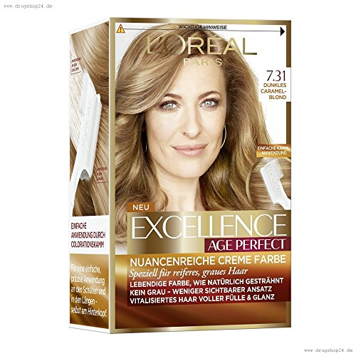 Excellence Age Perfect Dunkles Caramelblond 7.31,180ml