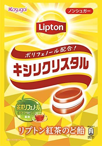 春日井製菓 キシリクリスタル リプトン紅茶 のど飴 58g×4袋