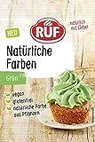 RUF Natürliche Lebensmittelfarbe grün aus Pflanzen Konzentrat, 8 g
