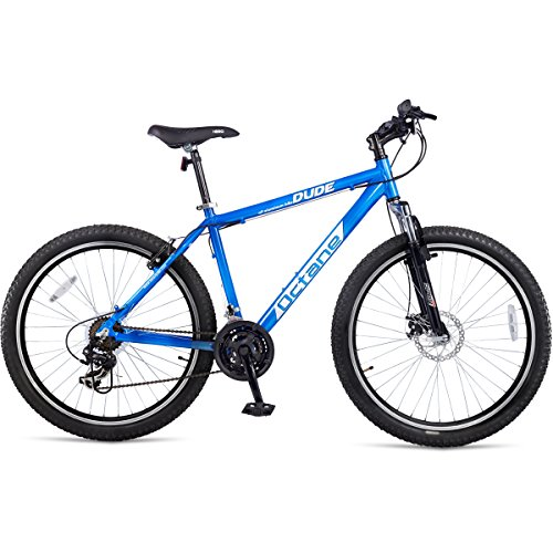 Hero Octane Dude 26T 21 Speed Mountain Cycle (Blue)