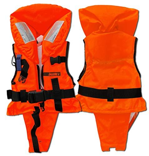 LALIZAS Solid Life Vest 100 N CE ISO 12402-4 certificado para niños pequeños de 3 a 10 kg