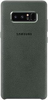 Samsung Galaxy Note 8 Alcantara Cover - Khakhi