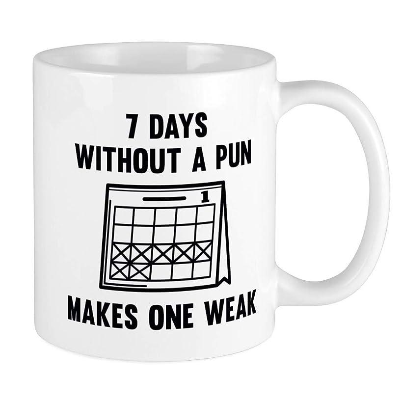 CafePress 7 Days Without A Pun Mug Unique Coffee Mug, Coffee Cup