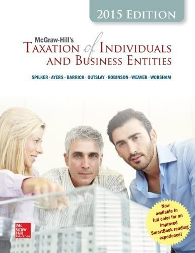 McGraw Hill s Taxation of Individuals and Business Entities 2015 Edition Hardcover April 7 2014 product image