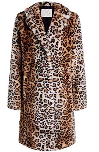 Oui Mantel aus Kunstfell, Leopardenmuster Gr. 42, Dcg