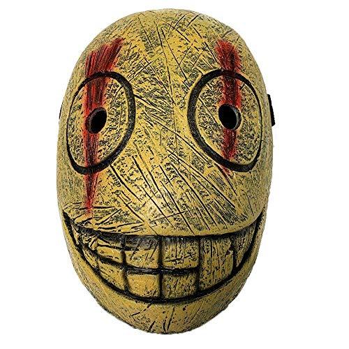 N\C Máscara de Halloween Dead by Daylight Máscaras Juego Butcher The Trapper Cosplay Horror Máscara de látex Accesorios de Fiesta de Disfraces de Halloween