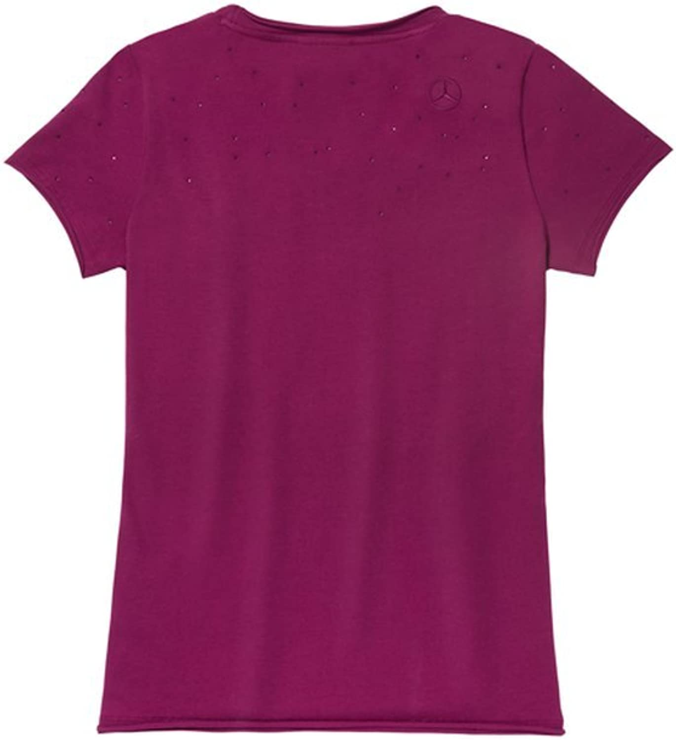 Mercedes Benz Women's TShirt Plum,