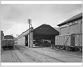 Media Storehouse 10x8 Print of Goods shed, Birmingham BB64 02099 (11563111) - coolthings.us