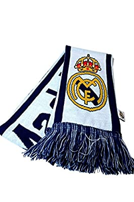 Iconsports Real Madrid Authentic Official Licensed Product Soccer Scarf - 006