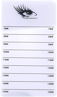 1st market つけまつ毛延長接着剤スタンドホルダーボードを移植耐久性のあるアクリルラッシュパッド